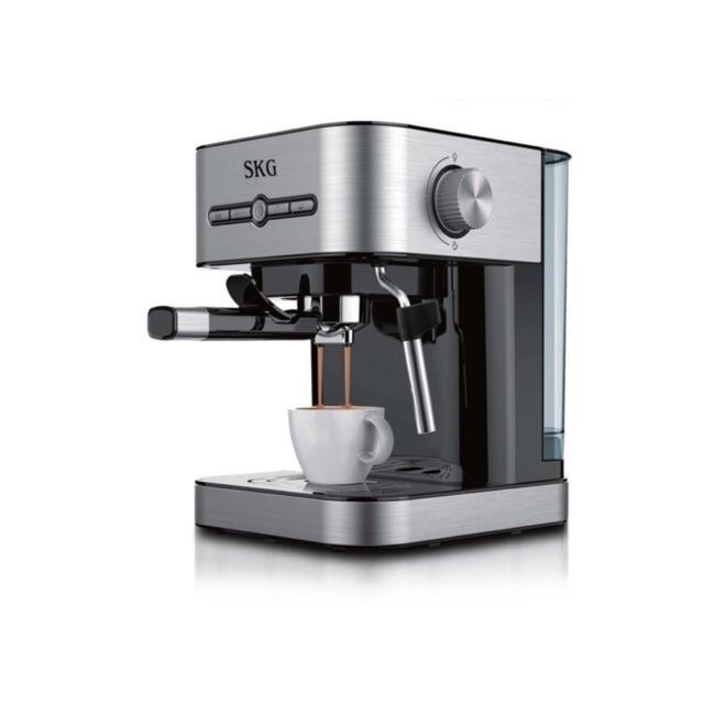 SKG เครื่องชงกาแฟสด รุ่น SK-1203 แถมฟรี เครื่องบดกาแฟ **แรงดันสูง ทำกาแฟอร่อย** ดีไซด์สวยงามทันสมัย