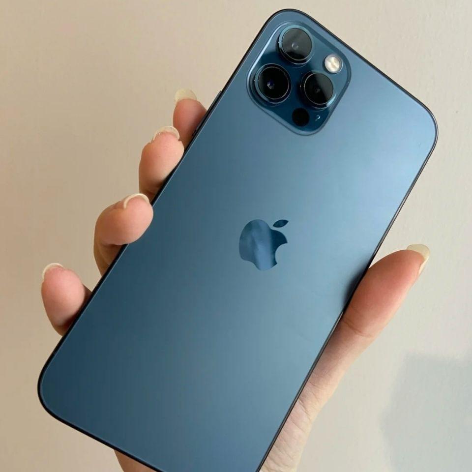 ♤❈▥โทรศัพท์มือถือ Apple 12Pro 5G มือสองเต็ม Netcom iPhone ใช้ X XSMAX ของแท้