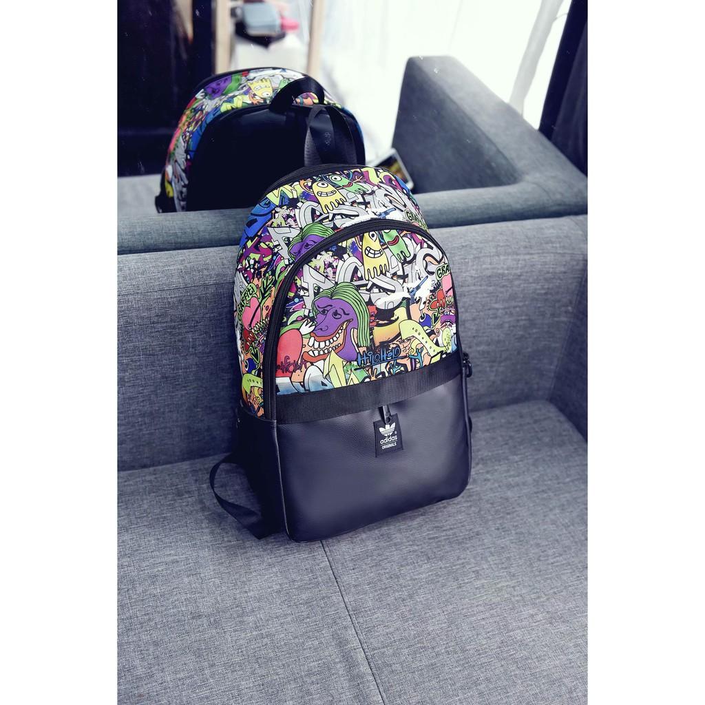 แฟชั่น Adidas Women Bag Men Unisex Backpack กระเป๋าเป้สะพายหลัง Cheap