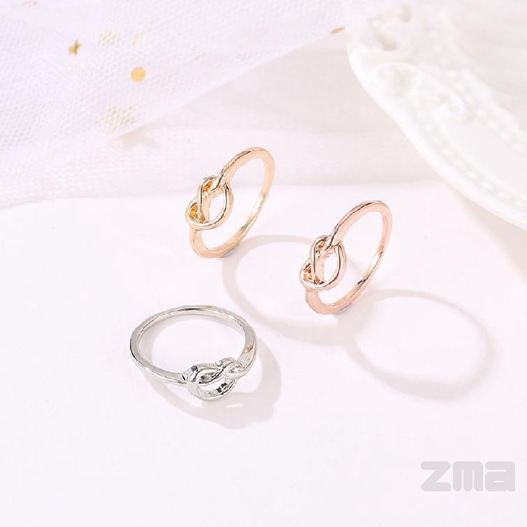 แหวนทองคำขาวดอกกุหลาบผู้หญิงเครื่องประดับทำด้วยมือที่สวยงาม 598