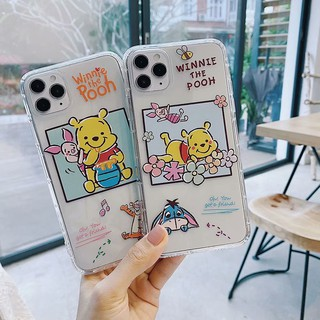 Review INS Winnie The Pooh เคสซิลิโคน iphone 11 pro max case iphone X XR 6 6s 7 8 plus 7+ 8+ soft cover เคสกันกระแทก
