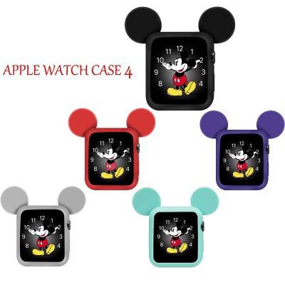 ซองซิลิโคนป้องกันมือ Case Cover สำหรับ Apple Watch Series 4 40mm 44mm All Model