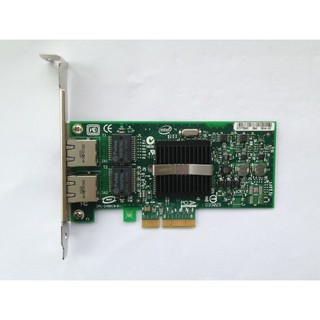 Network card adapter lan card for INTEL PRO 1000pt 1000 pt PCI-E 9402 pt 9402PT 82571 NC360T 412651-001 412646-001 412648-B21 0X3959 39Y6128 39Y6127  double-Port PCI-E card