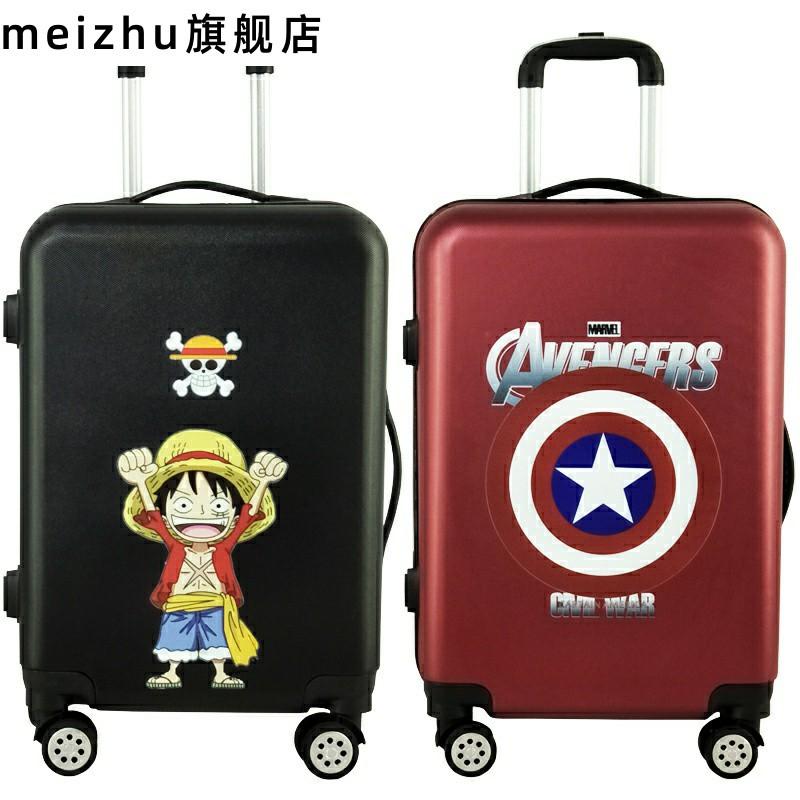 กระเป๋าเดินทางลายการ์ตูนน่ารักขนาด 20 นิ้ว 24 นิ้ว