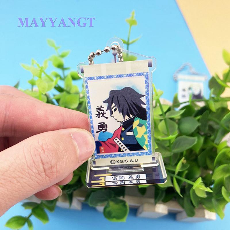 Mayyangt Japan Anime Demon Slayer Kimetsu No Yaiba Acrylic Stand Model Nezuko Zenitsu Figure 15CM Display Decoration Action Figure Plate|Stationery Set