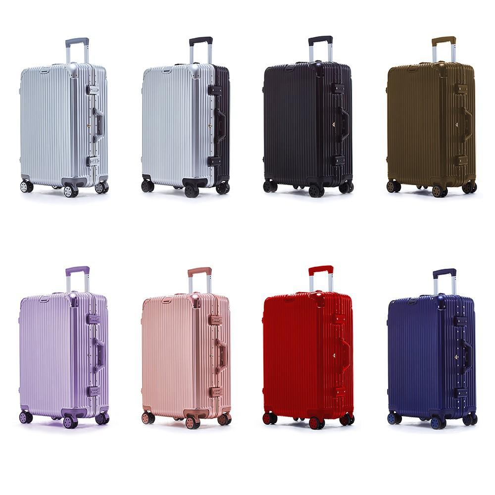 กระเป๋าเดินทางรุ่น P021 ขนาด 24 นิ้วกระเป๋าเดินทาง