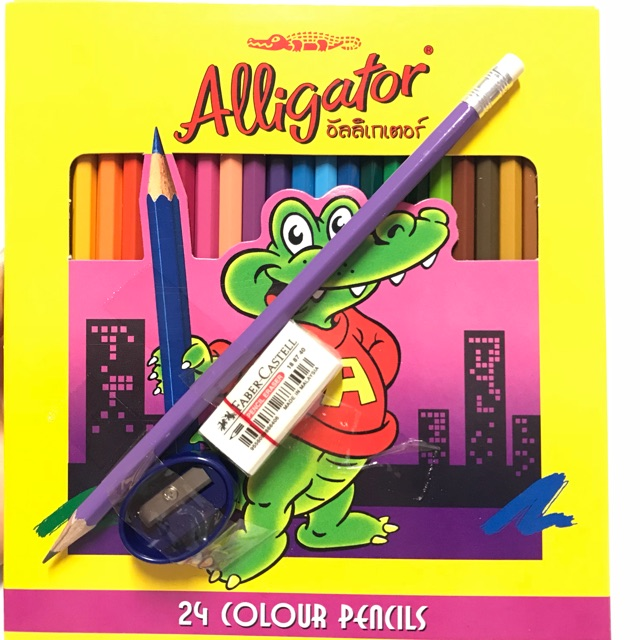 Sale❗️สีไม้ Alligator 24 Color Pencil