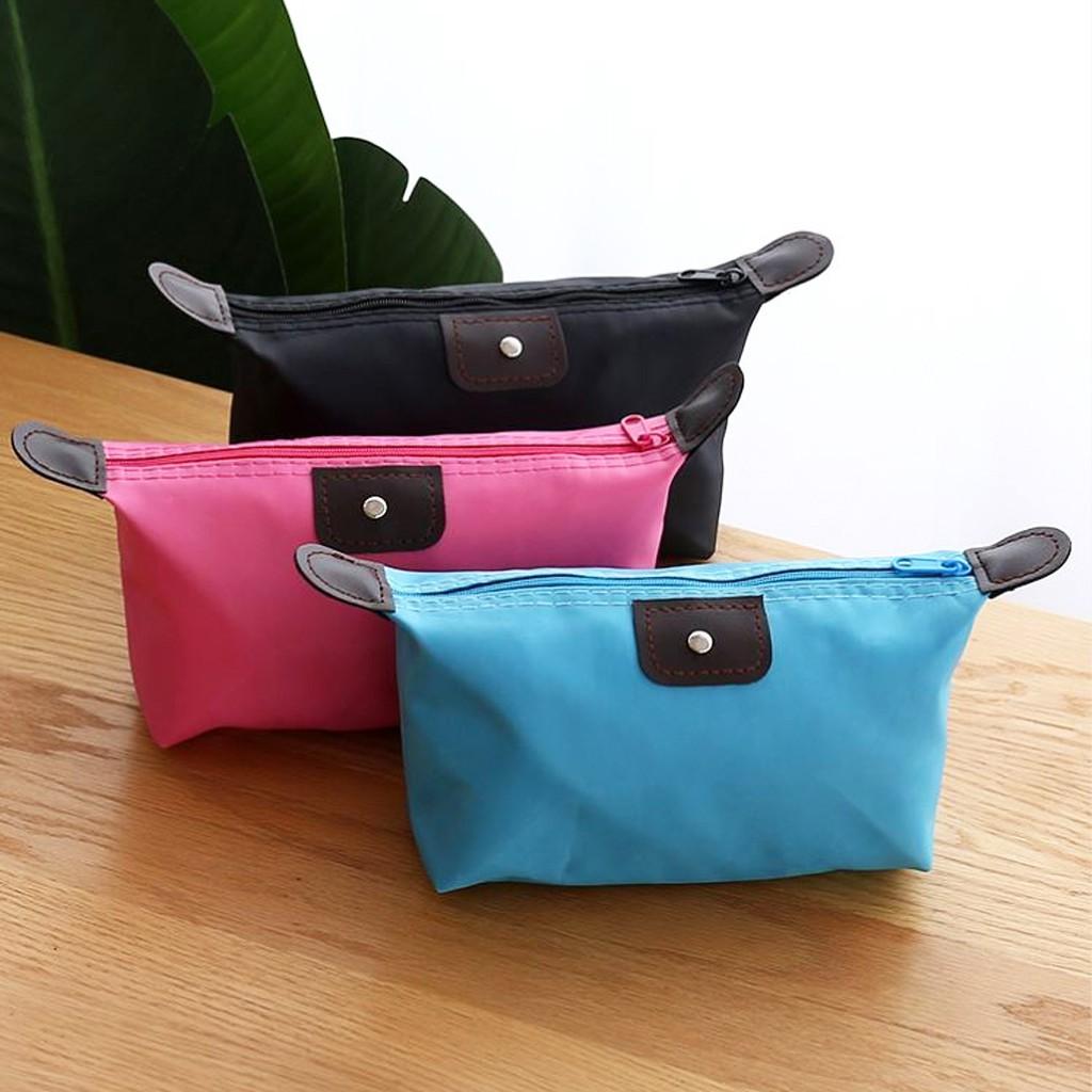 KOREA(KR1354)กระเป๋าเสริมเดินทางใบเล็ก พับเก็บได้ จัดระเบียบอเนกประสงค์
