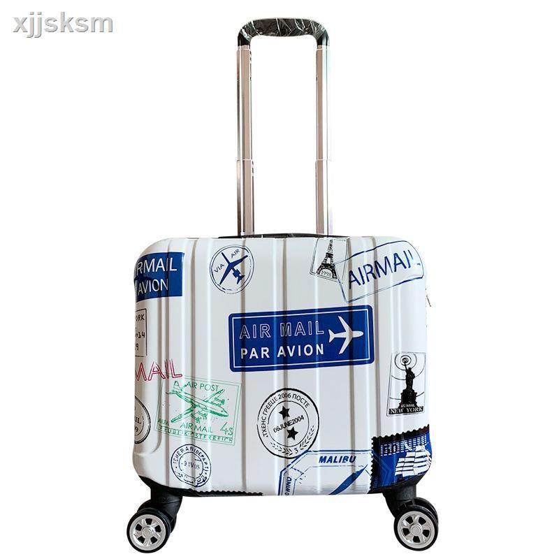 กระเป๋าเดินทางล้อลากขนาดเล็ก 14 นิ้วขนาดพกพา