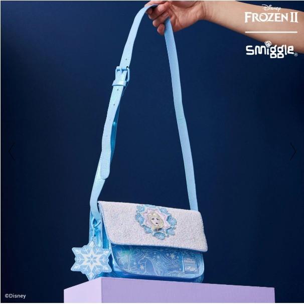 Smiggle Disney's Frozen 2 Elsa Shoulder Bag กระเป๋าสะพายข้างเจ้าหญิงแอลซ่า ของแท้ พร้อมส่ง