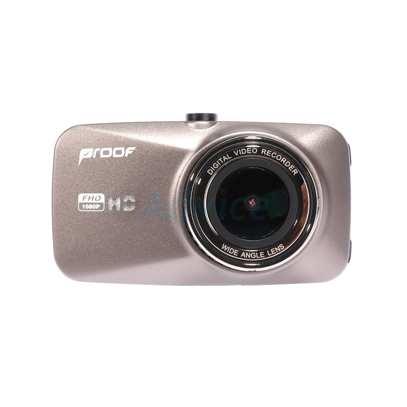 HP F350 2.4/'/' LCD 1080P Full HD 140-Degree Wide Angle View Car DVR Recorder