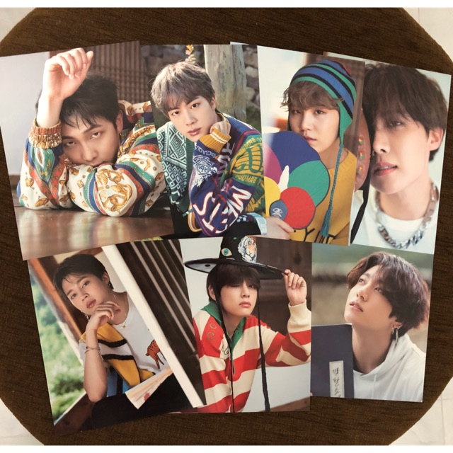 MINI POSTER BTS SUMMER PACKAGE 2019
