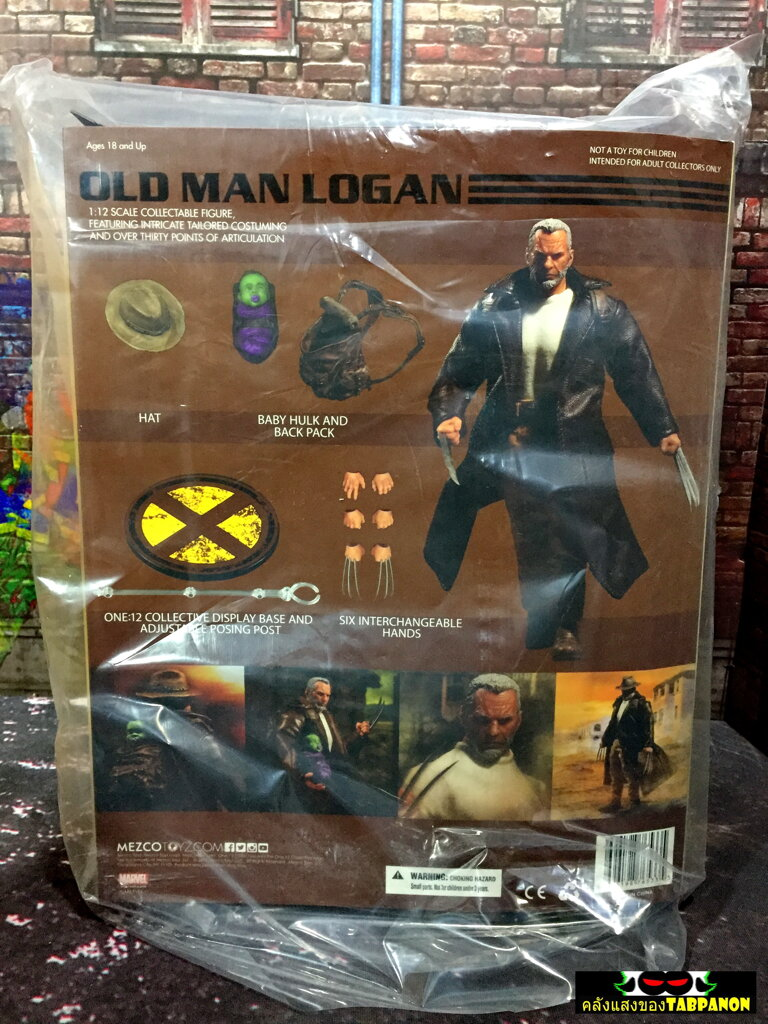 [18.04] Mezco X-Men Old Man Logan One:12 Collective Figure