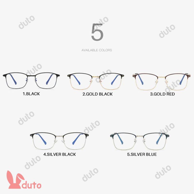 {New} Anti-Blue Light Prescription Men Optical Eyeglasses Photochromic Glasses Frame Women Eyewear 4.8 DUTO