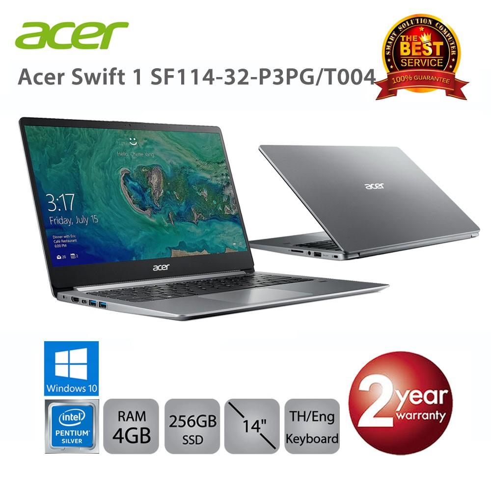 Acer Swift 1 SF114-32-P3PG/T004 Intel Pentium N5000/4GB/256GB SSD ...