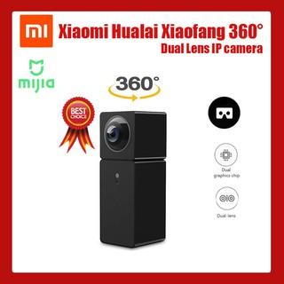 🔥NEW🔥 Xiaomi กล้องวงจรปิด Xiaofang Hualai 360 องศา Panoramic View VR IP Camera Dual Lens จับทุกมุม