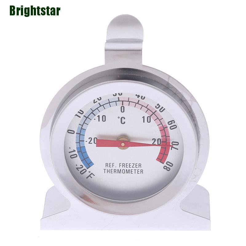 Refrigerator Thermometer Stainless Steel Fridge Freezer Thermometers Kitchen