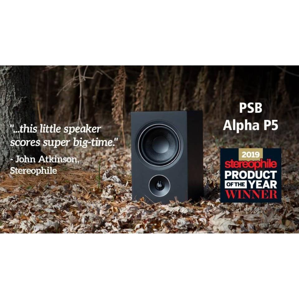 PSB Alpha P5 Monitor Speakers ลําโพงบุ๊ค เชลล์ 2 ทาง