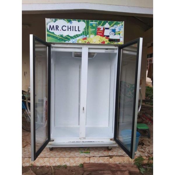 ตู้แช่ตู้เย็นมินิมารมือสองสภาพดีมีแถมเครื่องตัดไฟให้ด้วยค่ะ