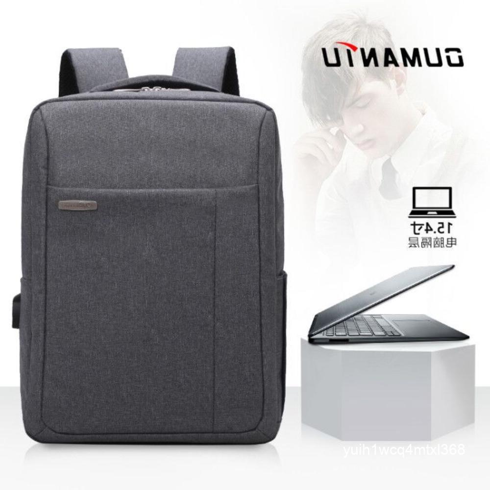 ชายและหญิงที่เดินทางมาพักผ่อนกระเป๋าเป้นักเรียนกระเป๋าเดินทางกระเป๋าคอมพิวเตอร์ usb 15.6 โลโก้ของขวัญที่กำหนดเองจะขาย
