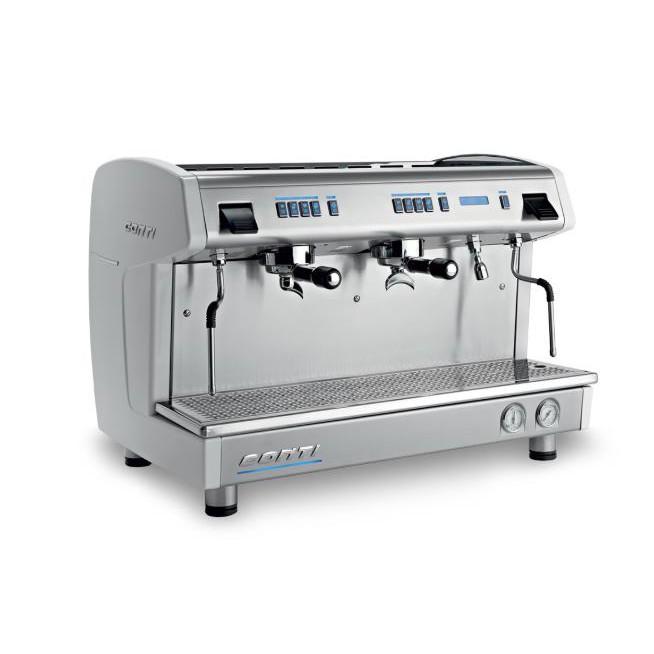 เครื่องทำกาแฟ 2 หัวชง สตรีมนมได้    CONTI รุ่น X One Standard
