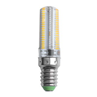 Review 5W Dimmable E14 152 3014 SMD LED Silica Gel Light Bulb Lamp Color:Warm White light Voltage:220V