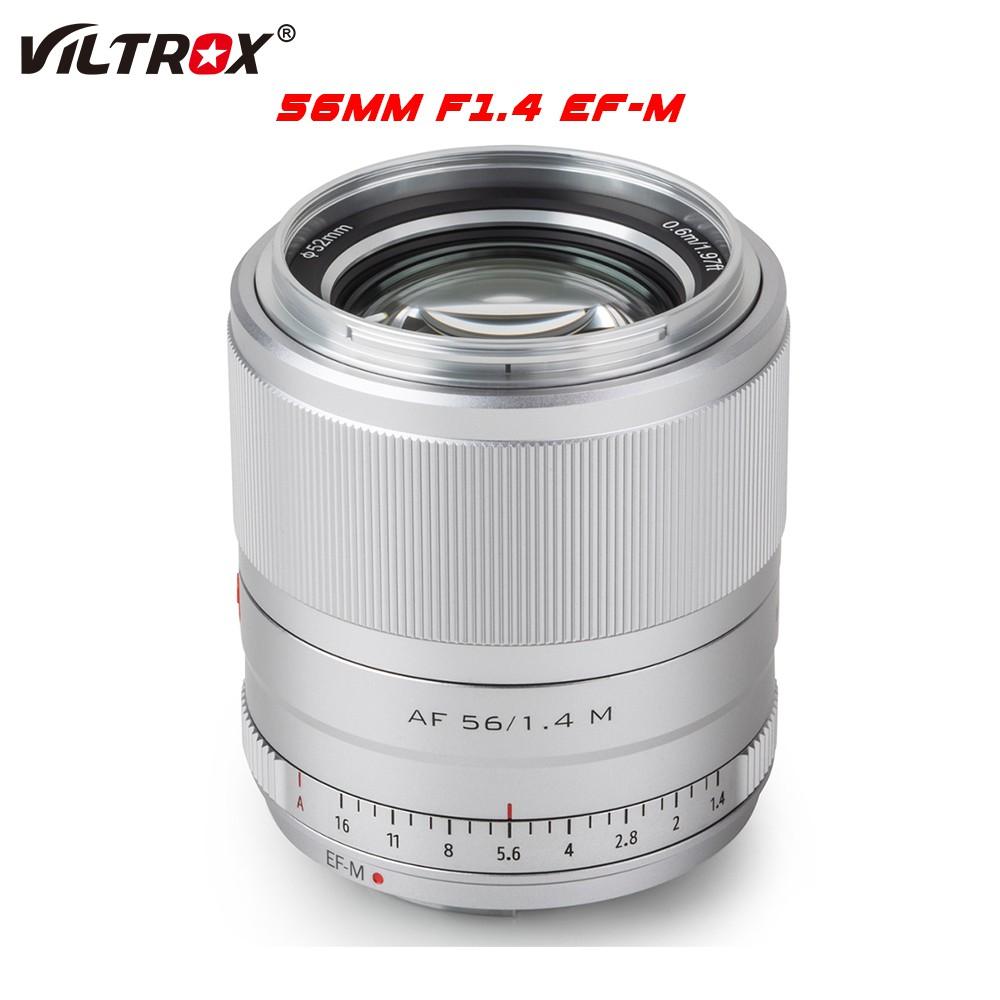 # เลนส์กล้องวิดีโอดิจิตอลViltrox 56mm f1.4 EFM Large Aerture Auto Focus ortrait Lens ASC rime Lens For Canon EOS M Camer