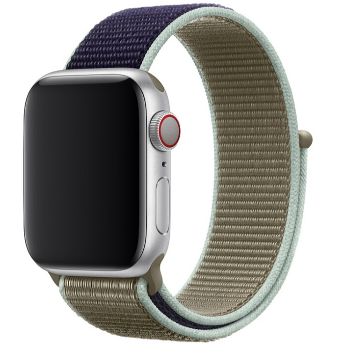(สายนาฬิกา) แอปเปิ้ลวอช ซีรี่ส์ 1 / 2 / 3 / 4 / 5 / 6 / SE สายแบบสปอร์ตลูป Apple Watch 38/ 40 /42 /44