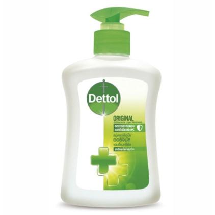 สบู่ล้างมือ เดทตอล 225 มล. Dettol เจลล้างมือ 99.99% เดทตอลเจลล้างมืออนามัยสูตรหอมสดชื่น