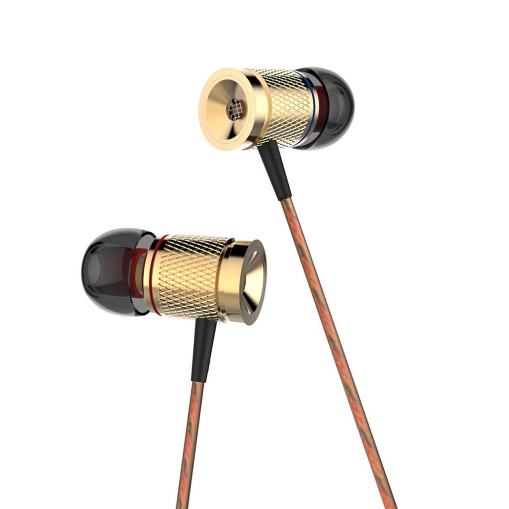 Blueple X53M Noise Cancellation Earphone Magnetic Absorption In-ear Earbuds  Stereo Music Earphones with Microphone