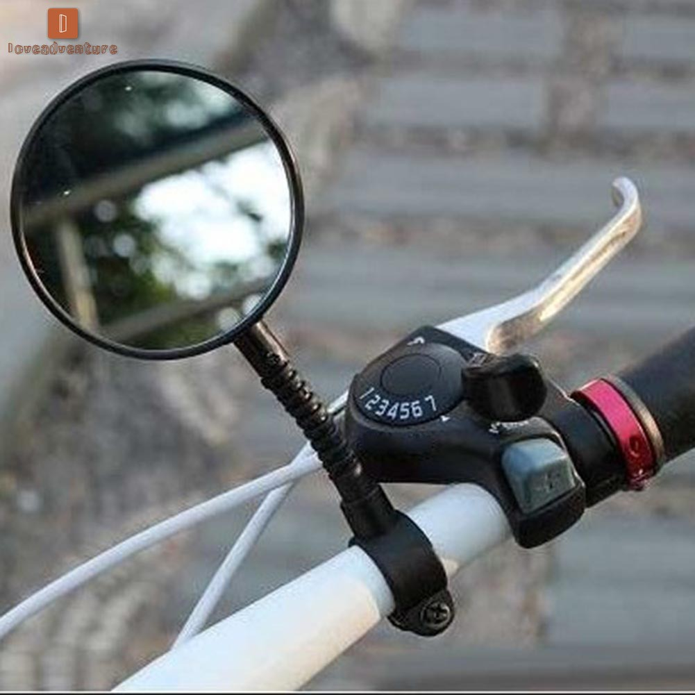 Bike Bicycle Cycling Classic Rear View Mirror Handlebar Flexible Safety Rearvie