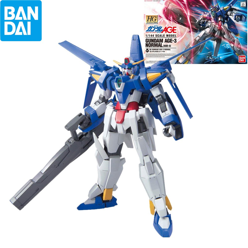 Bandai Hobby HG 1/144 Gundam AGE3 Normal lastic High Quality Figure Kit Action Assemble Model Toys