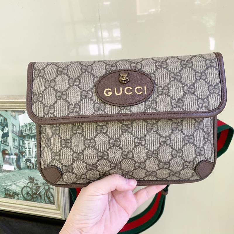 Used once! Gucci belt bag supreme