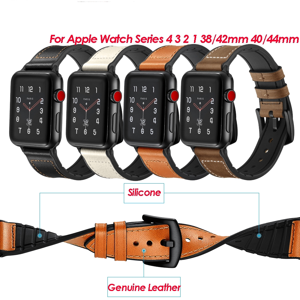 Watch Bands For Apple Watch Bands Series 4/3/2/1 Steel Buckle Sports Military Wrist Strap 5gak