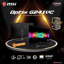 """☾∏✣จอมอนิเตอร์MSI Optix G241VC 23.6"""" Monitor 75Hz ประกัน 3ปี"""