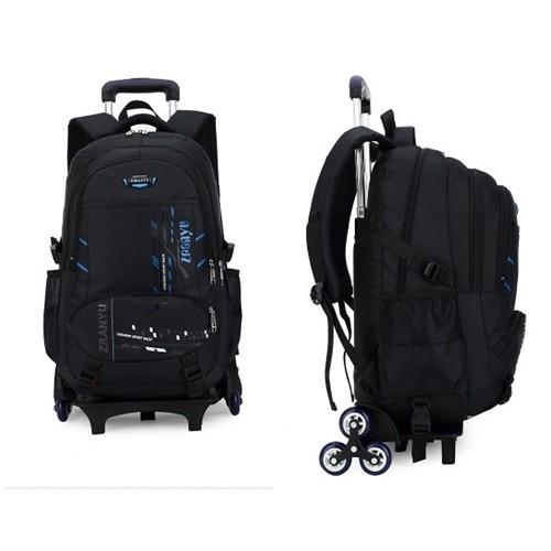 กระเป๋าเดินทางหรือกระเป๋านักเรียน V.2  ล้อลาก 6 ล้อ
