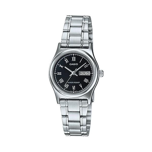 CASIO STANDARD นาฬิกาผู้หญิง สายสแตนเลส รุ่น LTP-V006D-1Bนาฬิกา casio ผู้หญิงนาฬิกา casio ชาย