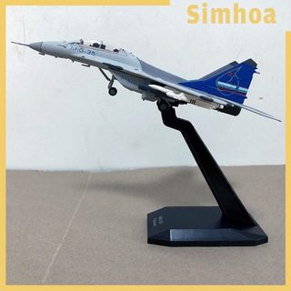 1//72 Scale MIG-29 Fighter Model Aircraft /& Dispaly Stand Collectables Decor