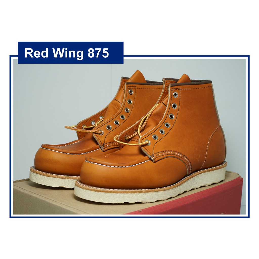 รองเท้าบู้ทเรดวิง Red Wing Classic Moc 875