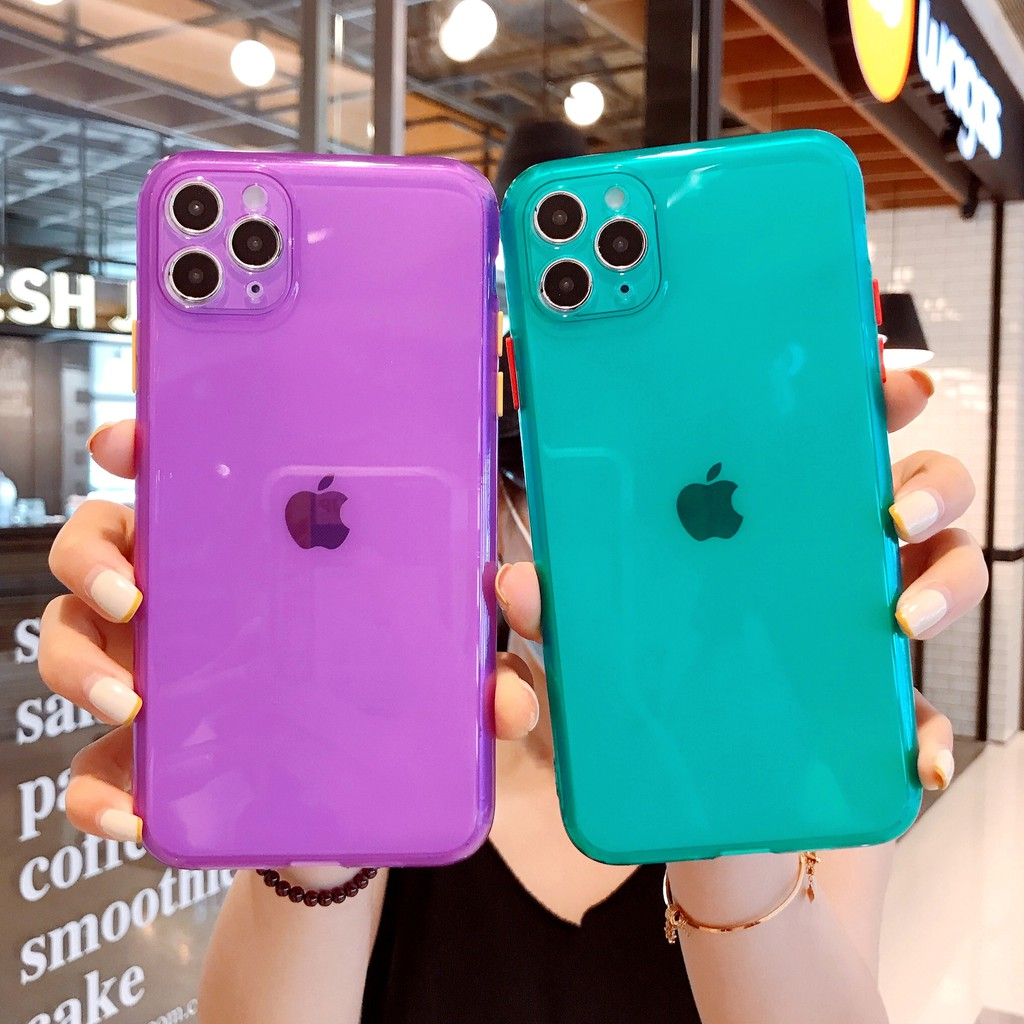 เคสโทรศัพท์มือถือ Tpu แบบสองสีสําหรับ Iphone 11 Pro Apple Xs Max