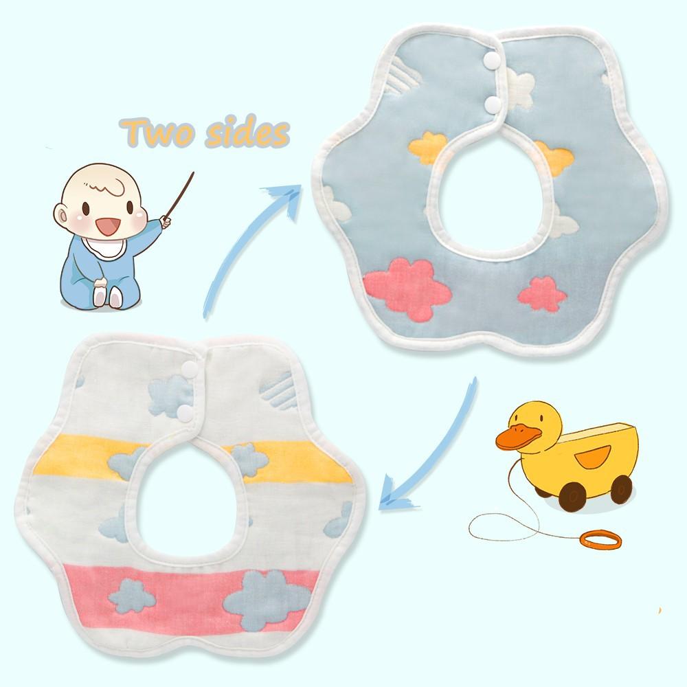 Newborn Adorable Baby Bib Waterproof Silicone Saliva Towel Baby Eating Supply 6A