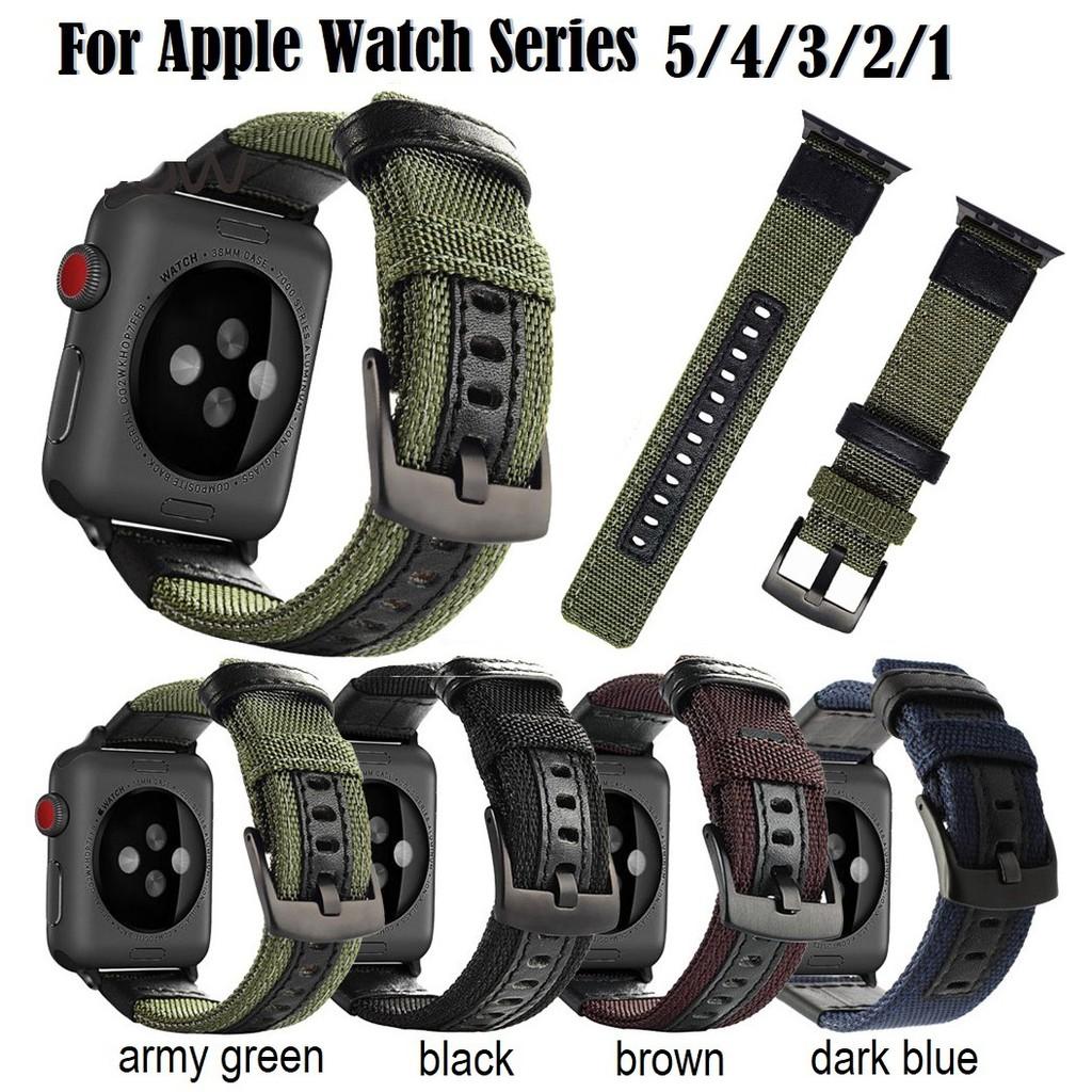 สายนาฬิกา Apple Watch Strong Durable ไนลอน สาย applewatch Series 6 5 4 3 2, Apple Watch SE iwatch สายนาฬิกาข้อมือ สาย si