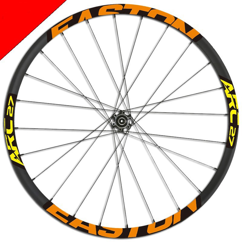 Mountain bike Wheel Rim Sticker for EVNE MTB M60 Santa Cruz replacement decal