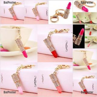 1PC Cute Hello Kitty Keychain Bag Key Chain Lucky Clover Pendant Keyring Present