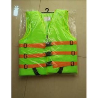 (เก็บเงินปลายทาง)เสื้อชูชีพ ดำน้ำ ว่ายน้ำผู้ใหญ่ พร้อมนกหวีด เบอร์ 5