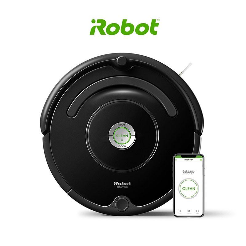 iRobot Roomba 670 หุ่นยนต์ดูดฝุ่นอัตโนมัติ - Black
