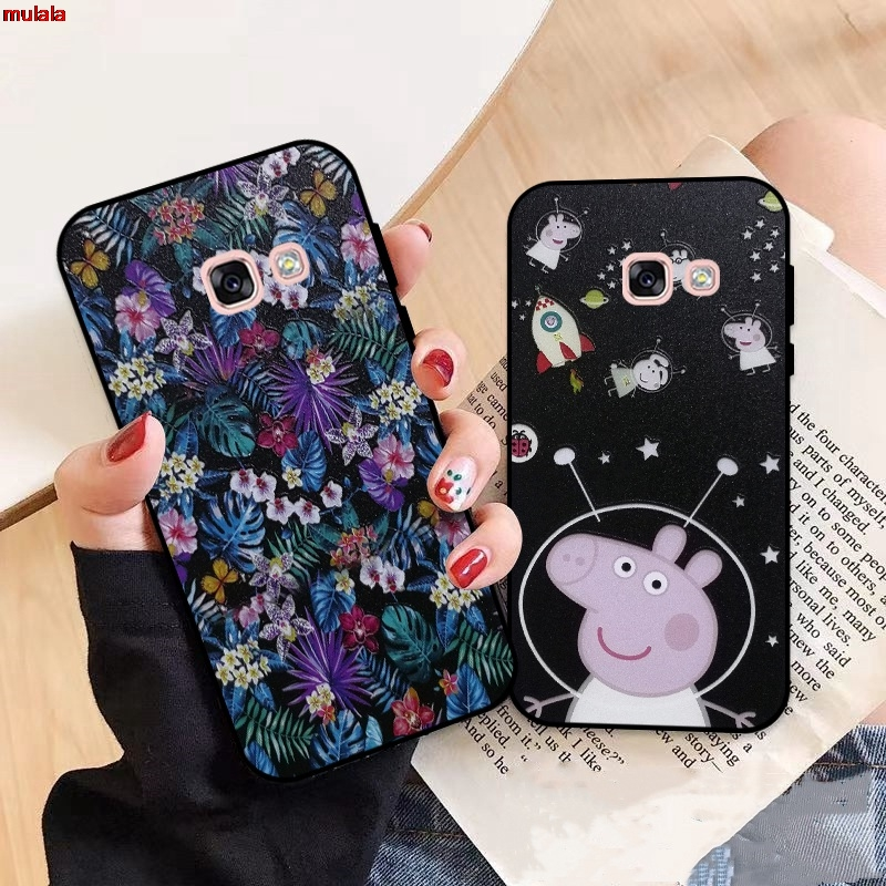 Samsung A3 A5 A6 A7 A8 A9 Pro Star Plus 2015 2016 2017 2018 HDXL Pattern-5 Silicon Case Cover