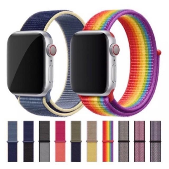 สาย applewatch แท้ สาย applewatch พร้อมส่ง!! สาย Sport Loop (สีใหม่ )