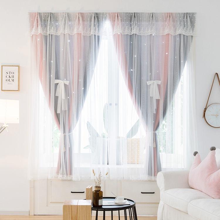 ☀️Sunny ผ้าม่านหน้าต่าง ผ้าม่านประตู ผ้าม่าน UV สำเร็จรูป กั้นแอร์ได้ดี และทึบแสง กันแดดดี ติดแบบตีนตุ๊กแก จำนวน 1ผืน