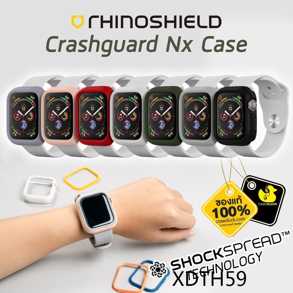 ❊เคส Apple Watch Se/6/5/4 Rhinoshield Crashguard Nx Case (40mm/44mm)♔